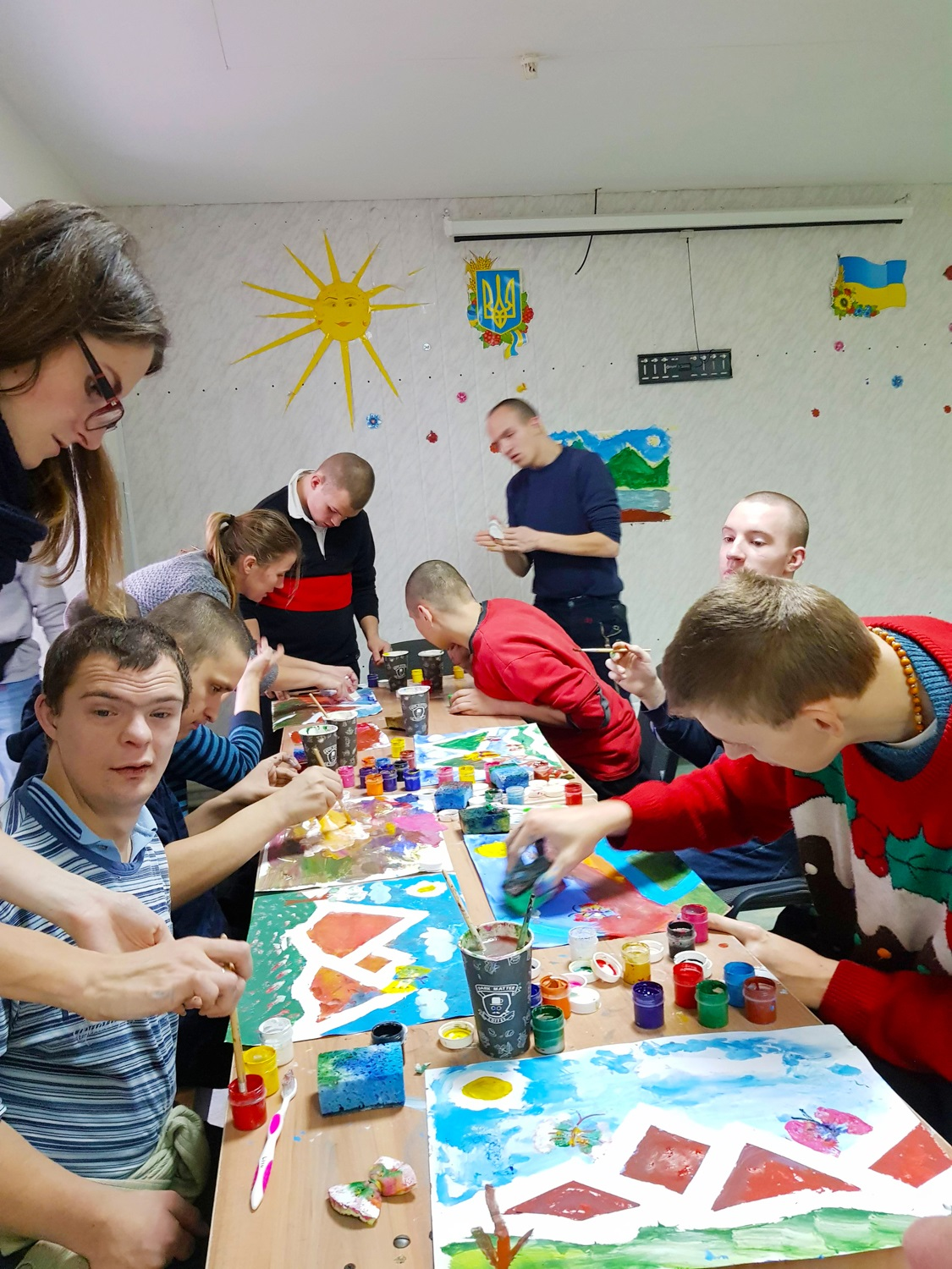 """The organizing committee of the project """"PROSTO NEBYLYTSI"""" visited another orphanage"""