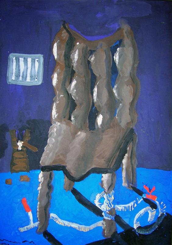 """Лауреат ІІ ступеня Дмитро ГУК, 13р. """"Макабричне крісло"""""""