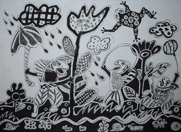 """ІІ ступінь Дарія Вершиніна, 7р. """"Риби по полю гуляють, жаби по небу літають"""""""