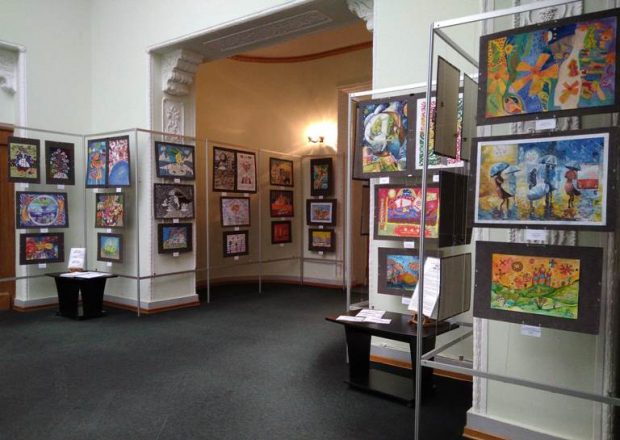 12 березня у Києві відбулося відкриття виставки кращих робіт Всеукраїнського проекту «Просто небилиці»
