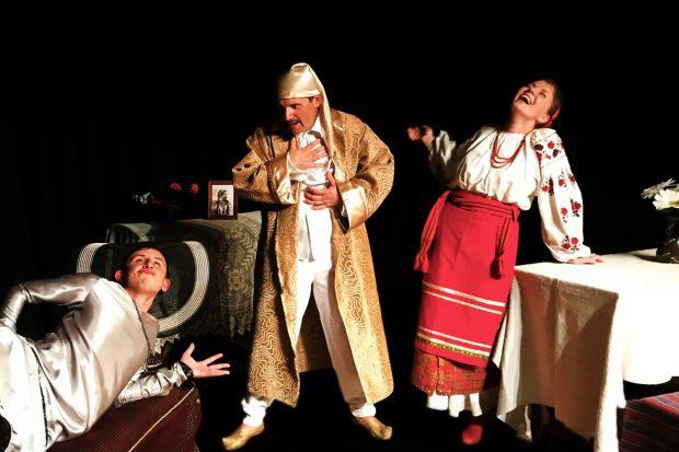 Виставою «Мерсікання» ЛАД Театр «СПІРОГРАФ» розпочав свій 14 театральний сезон